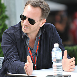 Christian Horner Team Principal of Red Bull Racing.<br /> <br /> Round 1 - 1st day of the 2017 Formula 1 Rolex Australian Grand Prix at The circuit of Albert Park, Melbourne, Victoria on the 23rd March 2017.<br /> Wayne Neal | SportPix.org.uk
