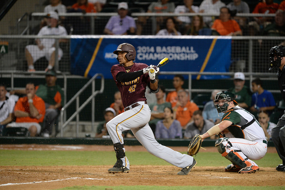 2014 Bethune-Cookman Baseball vs Miami<br /> Coral Gables Regional