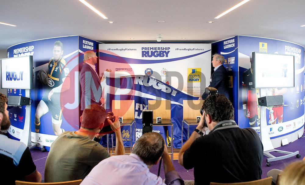 The Aviva Premiership fixtures are launched - Mandatory by-line: Robbie Stephenson/JMP - 07/07/2016 - RUGBY - BT Tower - London, United Kingdom  - Aviva Premiership Fixture Launch