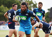 Rene Ranger during a pre season Super Rugby match. Blues v Storm, Pakuranga Rugby Club, Auckland, New Zealand. Thursday 4 February 2016. Copyright Photo: Andrew Cornaga / www.Photosport.nz