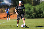 Forest Green Rovers assistant manager, Scott Lindsey during the Forest Green Rovers Training session at Browns Sport and Leisure Club, Vilamoura, Portugal on 24 July 2017. Photo by Shane Healey.