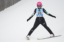 February 8, 2019 - Yuka Seto of Japan on first competition day of the FIS Ski Jumping World Cup Ladies Ljubno on February 8, 2019 in Ljubno, Slovenia. (Credit Image: © Rok Rakun/Pacific Press via ZUMA Wire)