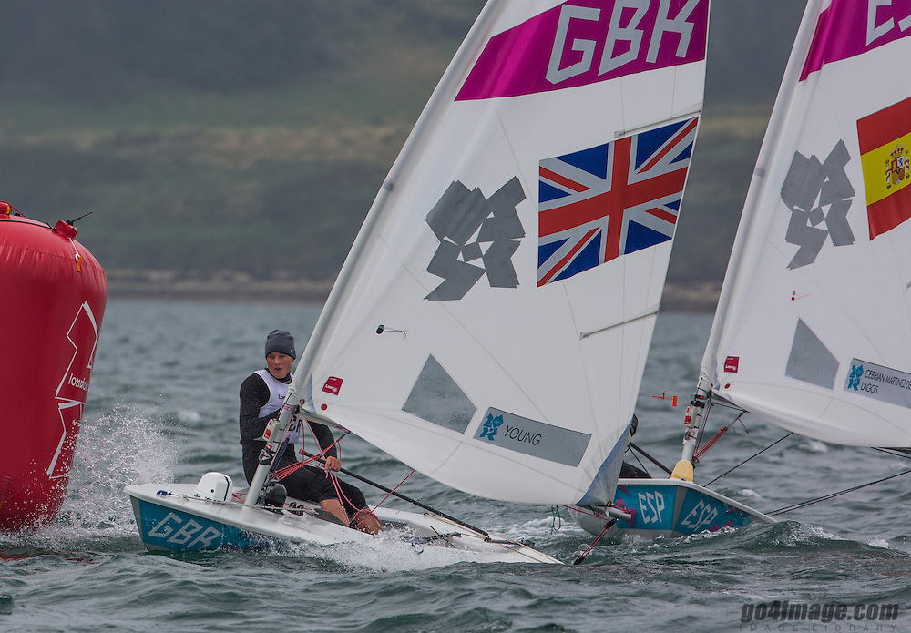 Laser RadialGBRYoung Alison<br /> <br /> 2012 Olympic Games <br /> London / Weymouth