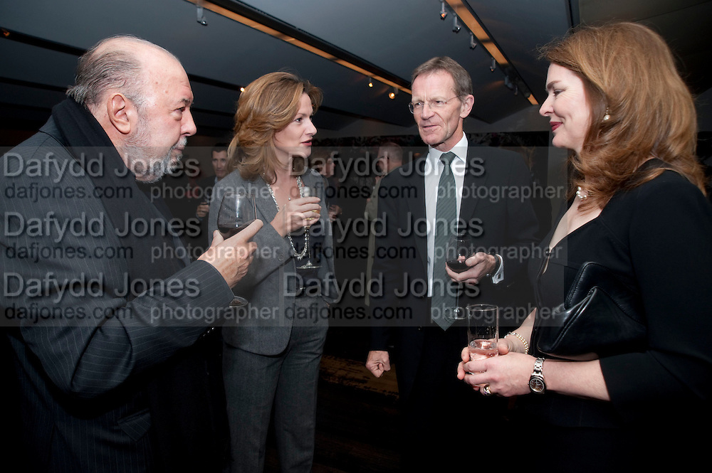 SIR PETER HALL; LADY HALL; SIR NICHOLAS SEROTA;  REBECCA IRVIN,, Miroslaw Balka/John Baldessari Opening Reception, Tate Modern. Monday 12 October