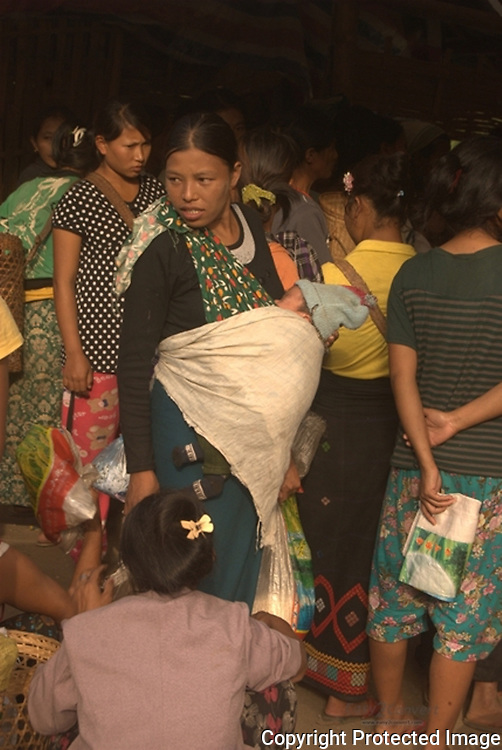 Ma ba let lu sha wa hkuk nga ai hpaw mi ,Jeyang IDP camp laiza, kachin state.