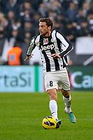 Claudio Marchisio Juventus.Calcio Juventus vs Sampdoria.Serie A - Torino 06/1/2013 Juventus Stadium .Football Calcio 2012/2013.Foto Federico Tardito Insidefoto.