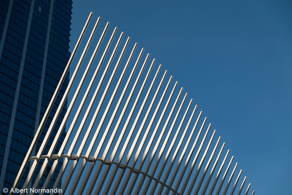 Oculus and One World Trade Center, New York City
