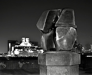 'Locking Piece' by Henry Moore  <br /> <br /> February 2002