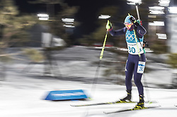 February 12, 2018 - Pyeongchang, Gangwon, South Korea - Galina Vishnevskaya of Kazakhstan competing at Women's 10km Pursuit, Biathlon, at olympics at Alpensia biathlon stadium, Pyeongchang, South Korea. on February 12, 2018. Ulrik Pedersen/Nurphoto  (Credit Image: © Ulrik Pedersen/NurPhoto via ZUMA Press)