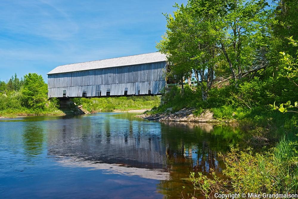Covered Bridge, St. Martins, New Brunswick, Canada