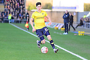 Oxford United Midfielder Callum O'Dowda during the The FA Cup Fourth Round match between Oxford United and Blackburn Rovers at the Kassam Stadium, Oxford, England on 30 January 2016. Photo by Dennis Goodwin.