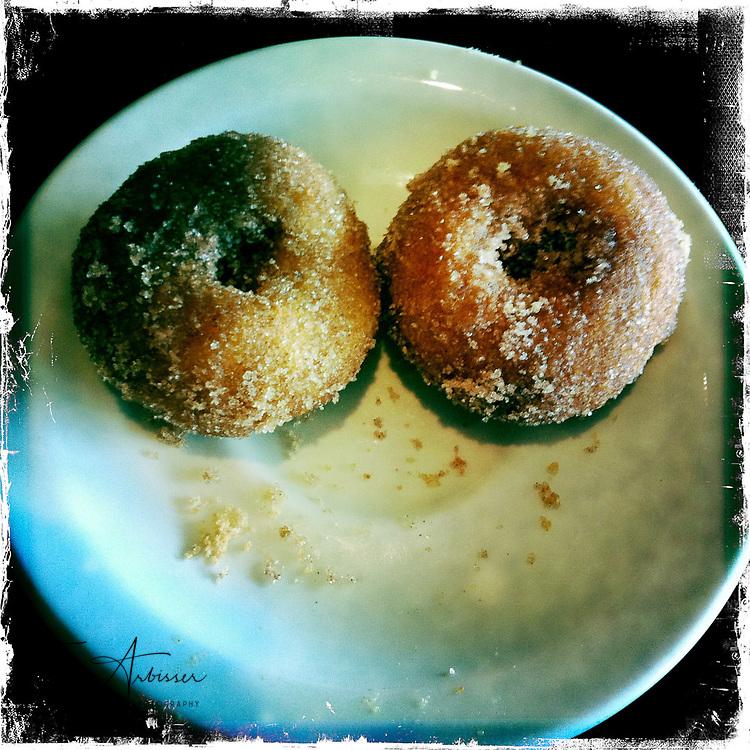Smiley donuts - Davenport, Iowa