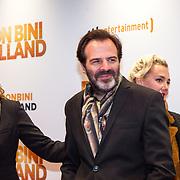 NLD/Amsterdam/20151207- Filmpremiere Bon Bini Holland, Cynthia Abma en partner Tom