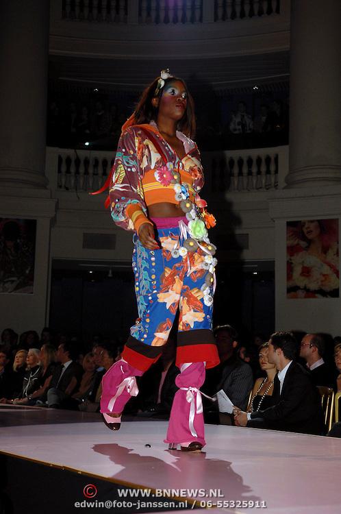 NLD/Amsterdam/20060126 - Uitreiking Elle Starstyle awards, modeshow