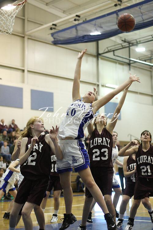 MCHS JV Girl's Basketball.vs Luray.11/29/2007..