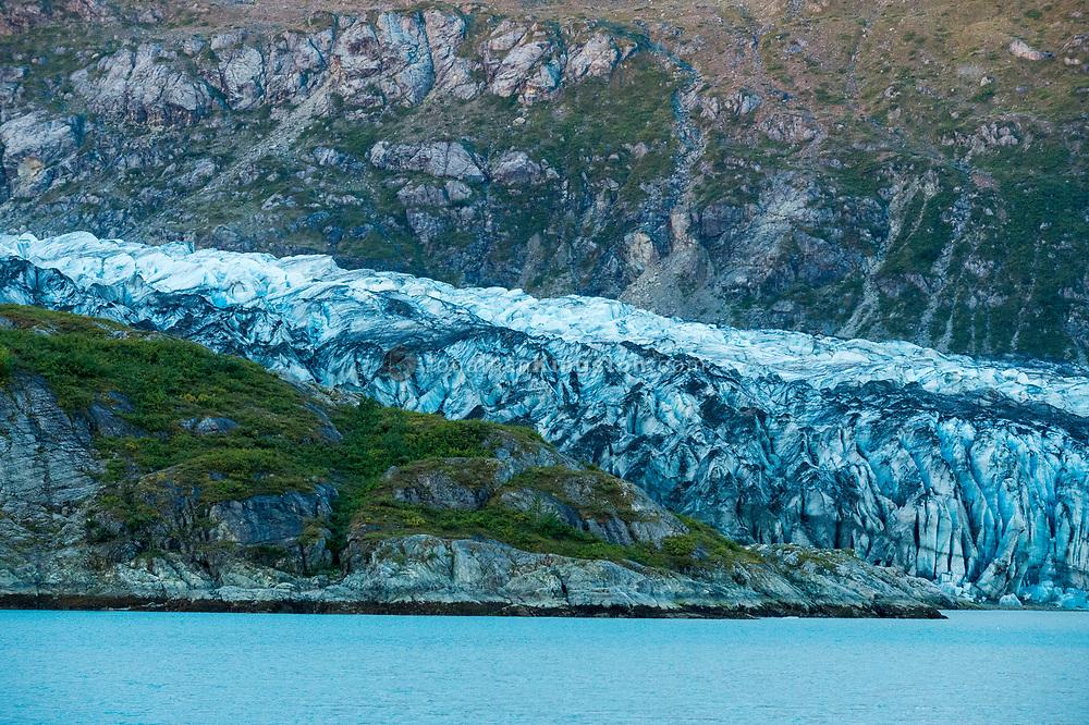 Lamplugh Glacier, Glacier Bay National Park, Alaska.