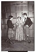 ANDREW INNES, FELICITY SALMON; MARK WILDON, Dance for William and Arabella, Caprington Castle. Kilmarnock, 3 September 1983,