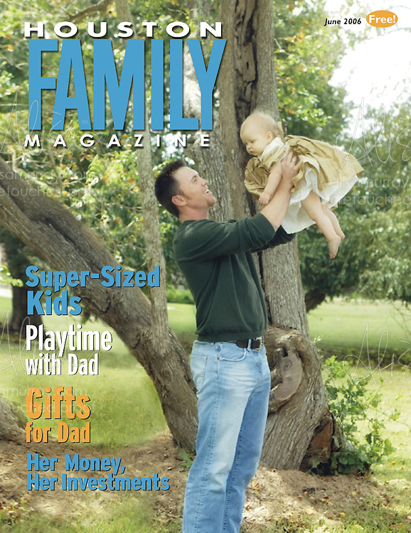 Houston Family June 2006 Cover  Brad Lidge Houston Astros