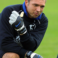 St Johnstone's new keeper Alan Miller who Billy Stark has signed on loan from Blackburn Rovers for 3 months<br /><br />see story by Gordon Bannerman Tel: 01738 553978<br /><br />Picture by Graeme Hart<br />Copyright Perthshire Picture Agency<br />Tel: 01738 623350  Mobile: 07990 594431