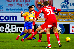 Jacob Mellis of Mansfield Town chases down the ball - Mandatory by-line: Ryan Crockett/JMP - 29/12/2018 - FOOTBALL - One Call Stadium - Mansfield, England - Mansfield Town v Swindon Town - Sky Bet League Two
