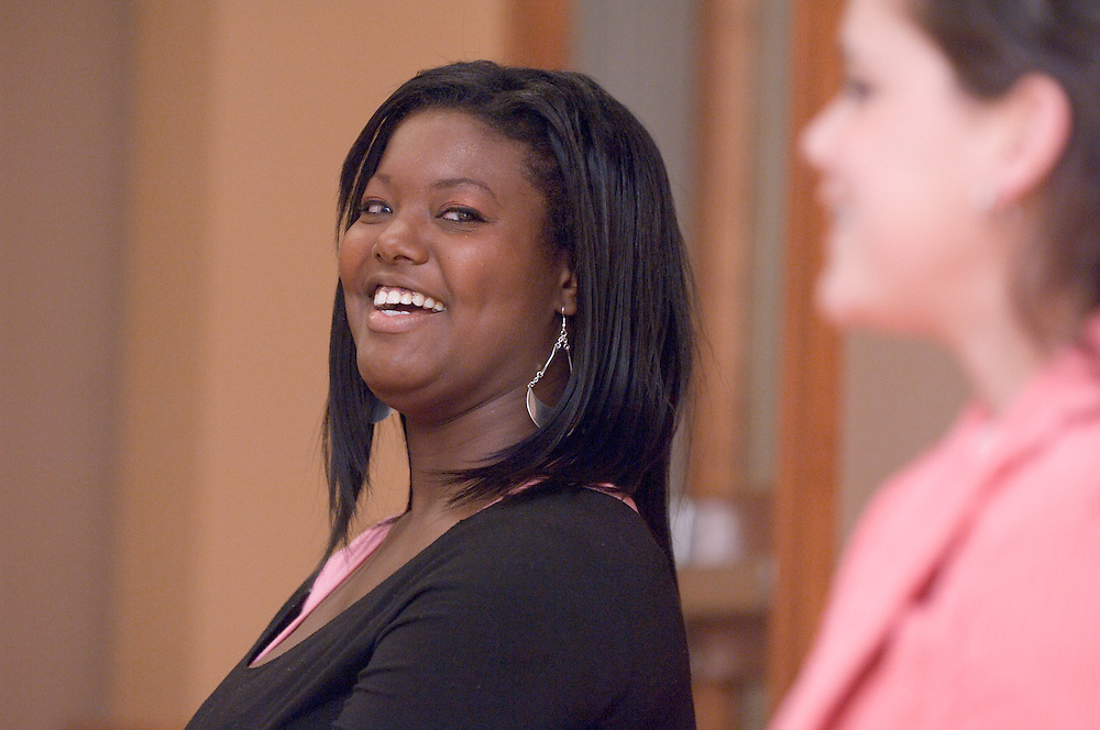 Appalachian Scholars Open House Program in New Baker..Phylicia Oliver, Student