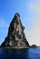 MEDITERRANEAN SEA ARCTIC SUNRISE 9MAY08 - Rocks near the volcanic island of Filicudi in the Mediterranean Sea...jre/Photo by Jiri Rezac / Greenpeace..© Jiri Rezac 2008..Contact: +44 (0) 7050 110 417.Mobile:  +44 (0) 7801 337 683.Office:  +44 (0) 20 8968 9635..Email:   jiri@jirirezac.com.Web:    www.jirirezac.com..© All images Jiri Rezac 2008 - All rights reserved.