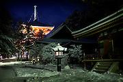 (En) January 2010 - Koyasan, Japan.  Inside the Garan area.  (Fr) Janvier 2010 - Koyasan, Japon. Dans l'enceinte sacree du Garan.