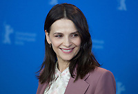 Actress Juliette Binoche at the photocall for the film Who You Think I Am (Celle Que Vous Croyez) at the 69th Berlinale International Film Festival, on Sunday 10th February 2019, Hotel Grand Hyatt, Berlin, Germany.