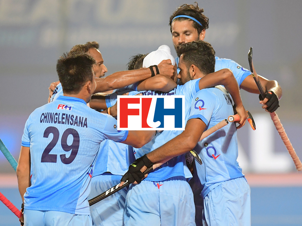 Odisha Men's Hockey World League Final Bhubaneswar 2017<br /> Match id:02<br /> Australia v India<br /> Foto: SINGH Mandeep scored a goal<br /> WORLDSPORTPICS COPYRIGHT FRANK UIJLENBROEK