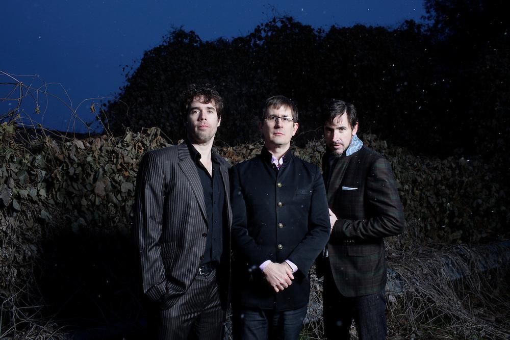 The Mountain Goats - John Darnielle, Peter Hughes, Jon Wurster, December 2010.