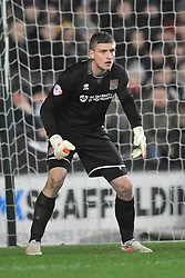 ADAM SMITH GOALKEEPER NORTHAMPTON TOWN, MK Dons v Northampton Town, FA Cup Emirates FA Cup Third round Repay, Stadium MK, Tuesday 19th January 2016