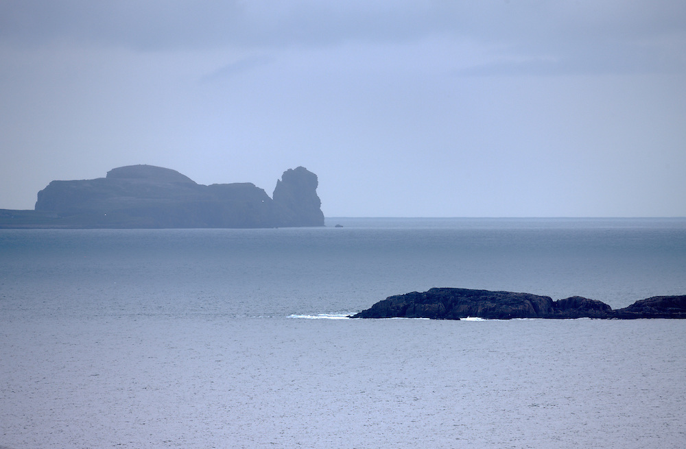 Tory Island North-Western Ireland seen from mainland Donegal
