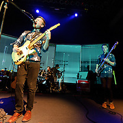 WASHINGTON, DC - March 10th  2013 -  Vincent Neff, David Maclean and Jimmy Dixon of Django Django perform at the 9:30 Club in Washington, D.C. The band's self-titled debut album has earned plaudits from The Guardian, Rolling Stone and the NME. (Photo by Kyle Gustafson/For The Washington Post)