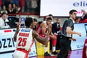 Moore Ronald<br /> Openjobmetis Varese - A X Armani Exchange Milano<br /> Openjobmetis Varese - <br /> Basket Serie A LBA 2018/2019<br /> Varese 03 January 2017<br /> Foto Mattia Ozbot / Ciamillo-Castoria