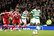 Celtic's Moussa Dembele (10) scores with the penalty to make it 3-0 during the Betfred Scottish Cup  Final match between Aberdeen and Celtic at Hampden Park, Glasgow, United Kingdom on 27 November 2016. Photo by Craig Galloway.
