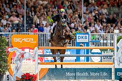 SCHULZE TOPPHOFF Philipp (GER), Cooper 149<br /> Münster - Turnier der Sieger 2019<br /> Preis der PROVINZIAL VERSICHERUNG<br /> Junioren-Förderpreis 2019<br /> 03. August 2019<br /> © www.sportfotos-lafrentz.de/Stefan Lafrentz