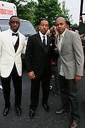 "l to r; Chaka Zulu, Chris ""Ludacris' Bridges and D-Nice at The Ludacris Foundation 5th Annual Benefit Dinner & Casino Night sponsored by Alize, held at The Foundry at Puritan Mill in Atlanta, Ga on May 15, 2008.. Chris ""Ludacris"" Bridges, William Engram and Chaka Zulu were the inspiration for the development of The Ludacris Foundation (TLF). The foundation is based on the principles Ludacris learned at an early age: self-esteem, spirituality, communication, education, leadership, goal setting, physical activity and community service. Officially established in December of 2001, The Ludacris Foundation was created to make a difference in the lives of youth. These men have illustrated their deep-rooted tradition of community service, which has broadened with their celebrity status. The Ludacris Foundation is committed to helping youth help themselves."