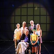 Bruce & Jolene McCaw & Family with Marion McCaw on the stage of Magic Flute.