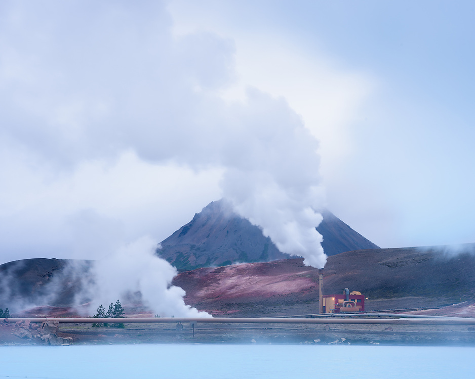 Geothermal station, near Reykhalid, Iceland
