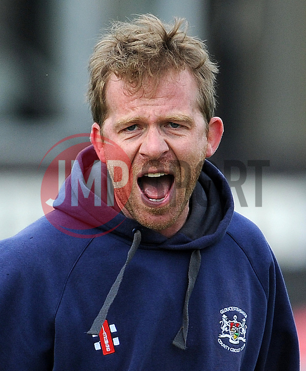 Gloucestershire's Coach Richard Dawson - Photo mandatory by-line: Harry Trump/JMP - Mobile: 07966 386802 - 30/03/15 - SPORT - CRICKET - Pre Season Fixture - T20 - Somerset v Gloucestershire - The County Ground, Somerset, England.