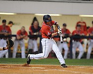 Mississippi's Kevin Mort was 4-for-4 against Tennessee in a college baseball at Oxford-University Stadium on Friday, April 2, 2010 in Oxford, Miss. Ole Miss won 7-3.