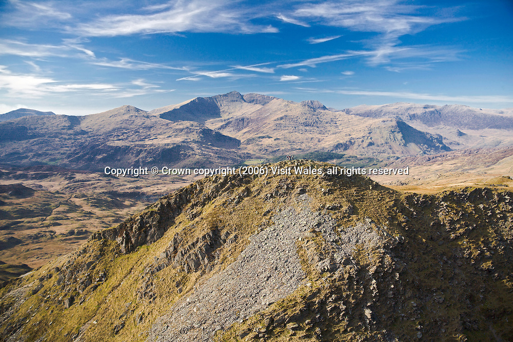 Cnicht (with Snowdon in background)<br />
