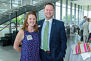 Miranda and Ben Seewer at the 10-year anniversary celebration of Republic Bank's Private Banking and Business Banking divisions Wednesday, May 17, 2017, at the Speed Art Museum in Louisville, Ky. (Photo by Brian Bohannon)