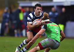 Leonardo Sarto of Bristol Bears United - Mandatory by-line: Paul Knight/JMP - 02/12/2018 - RUGBY - Clifton RFC - Bristol, England - Bristol Bears United v Harlequins - Premiership Rugby Shield