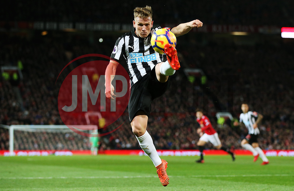 Matt Ritchie of Newcastle United - Mandatory by-line: Matt McNulty/JMP - 18/11/2017 - FOOTBALL - Old Trafford - Manchester, England - Manchester United v Newcastle United - Premier League