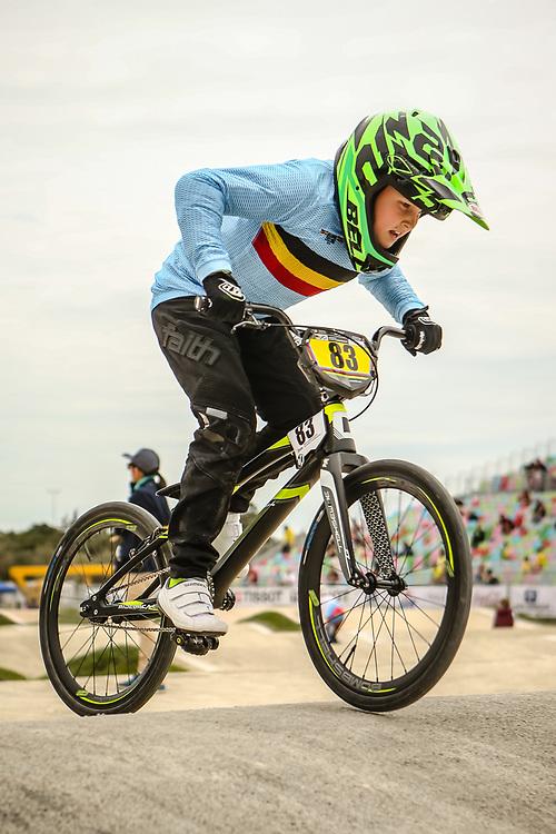 2018 UCI World Championships<br /> Baku, Azerbaijan<br /> 9 Boys #83 (BEEUSAERT Niels) BEL