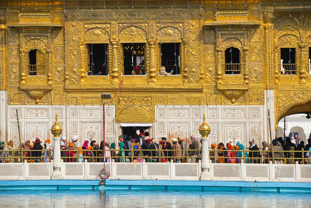 Asia, India, Punjab, Amritsar, The golden temple