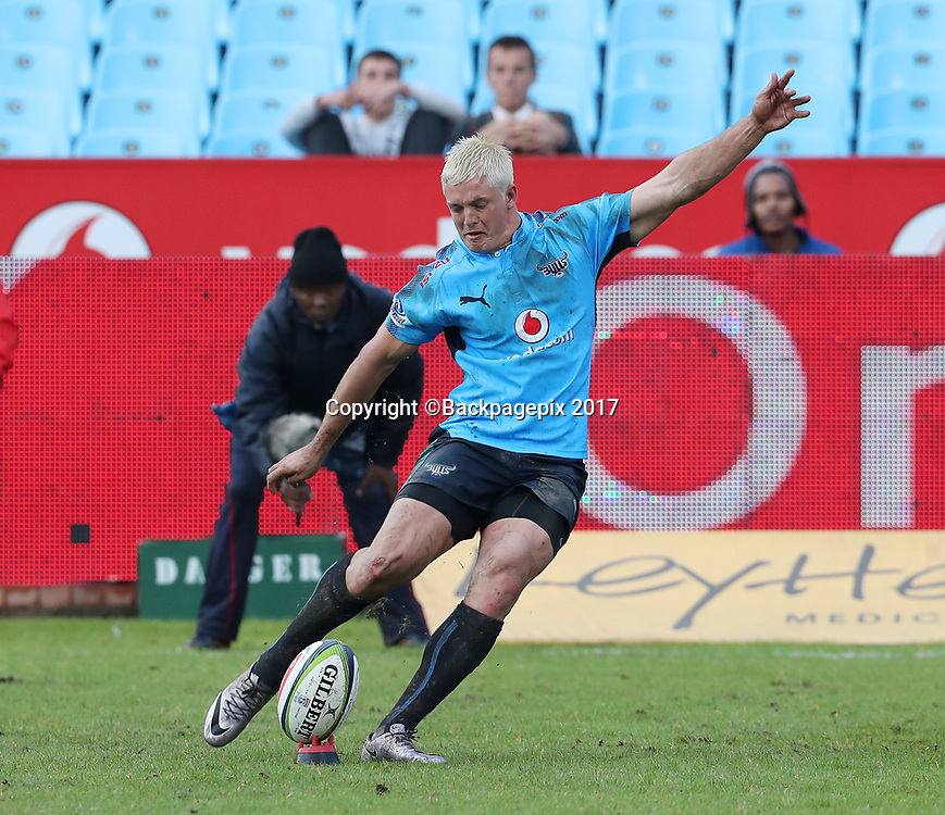 Tian Schoeman of the Bulls during the 2017 Super Rugby match between the Bulls and Highlanders at Loftus Stadium, Pretoria on 13 May 2017 ©Gavin Barker/BackpagePix / www.photosport.nz