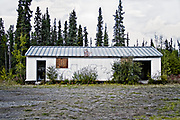 Many Alaska Highway roadhouses evolved from American military camps built during the construction of the 2,700 kilometre highway completed in 1942. Roadhouses typically offered a place to stay, a meal and gas, and were spaced no more than a day's drive apart.