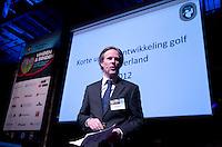 UTRECHT -  NVG directeur Lodewijk Klootwijk tijdens het het NVG congres met als thema 'vinden& binden'. COPYRIGHT KOEN SUYK